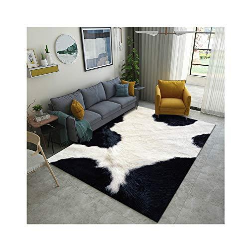 GEF Simulation Animal Fur Carpet, Home Decoration Simulation Animal Skin Printing Imitation Fur Carpet Living Room Bedroom,#3,160cmx230cm