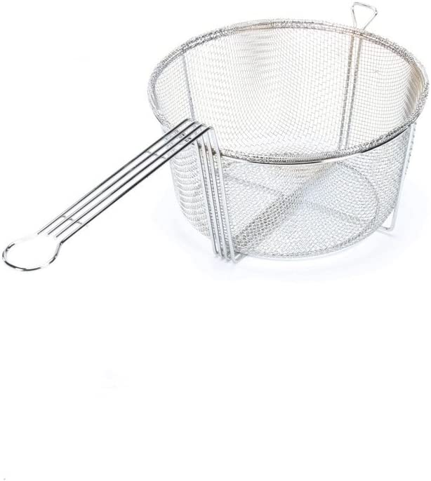 Carlisle 601002 11 5 Chrome Mesh Fryer Basket Deep Fryers Amazon Com