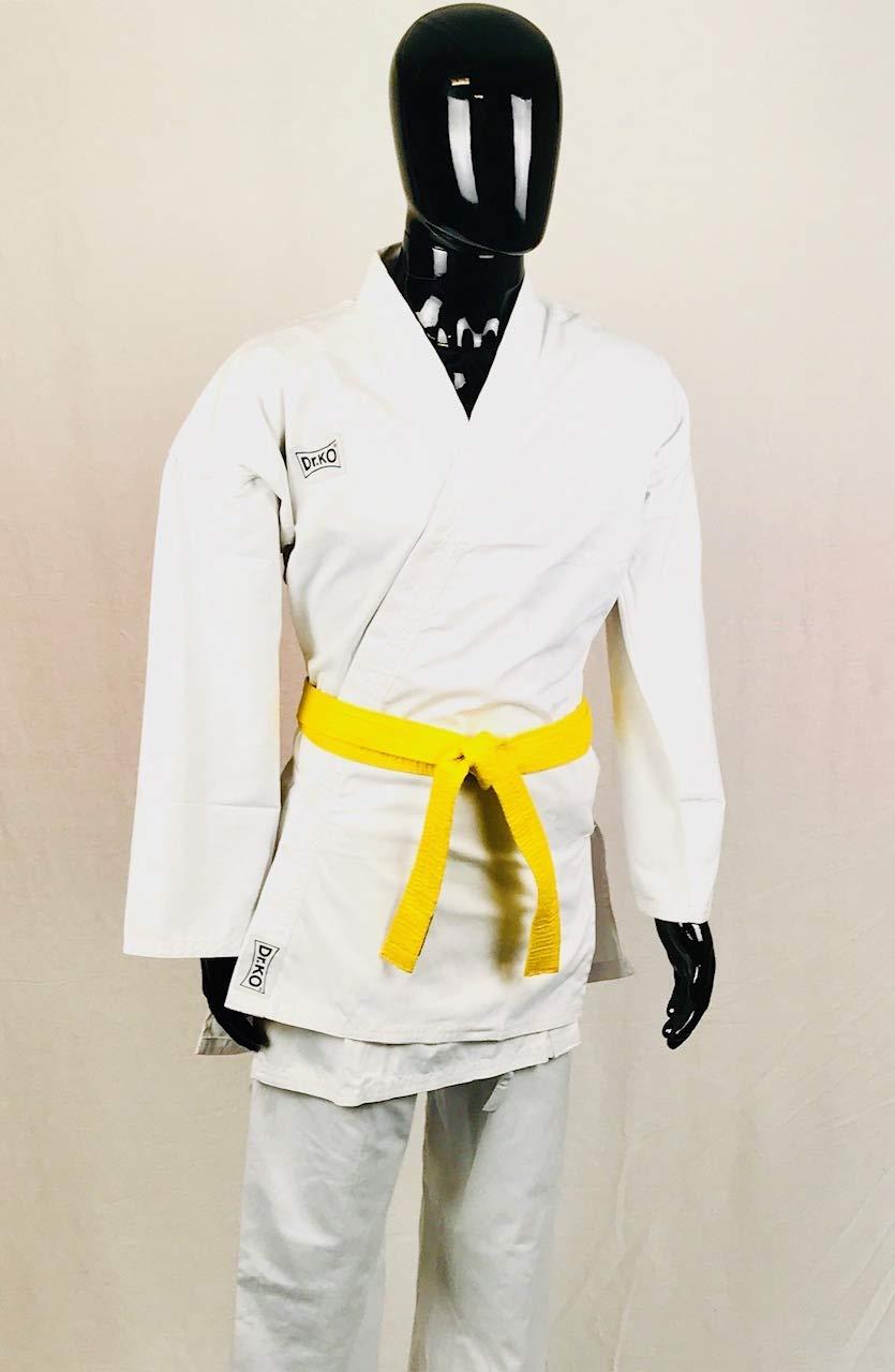 KO KARATEGI Kimono de Karate Unisex para ni/ños y Adultos Dr