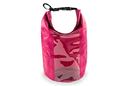 7f0f4705bf Image Unavailable. Image not available for. Colour  goindico Small  Waterproof Wet   Dry Bag Travel Packing Compact Light Weight Pink