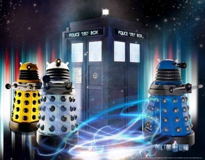 Doctor Who Wallpaper Mural Daleks Fixed Size Amazoncouk