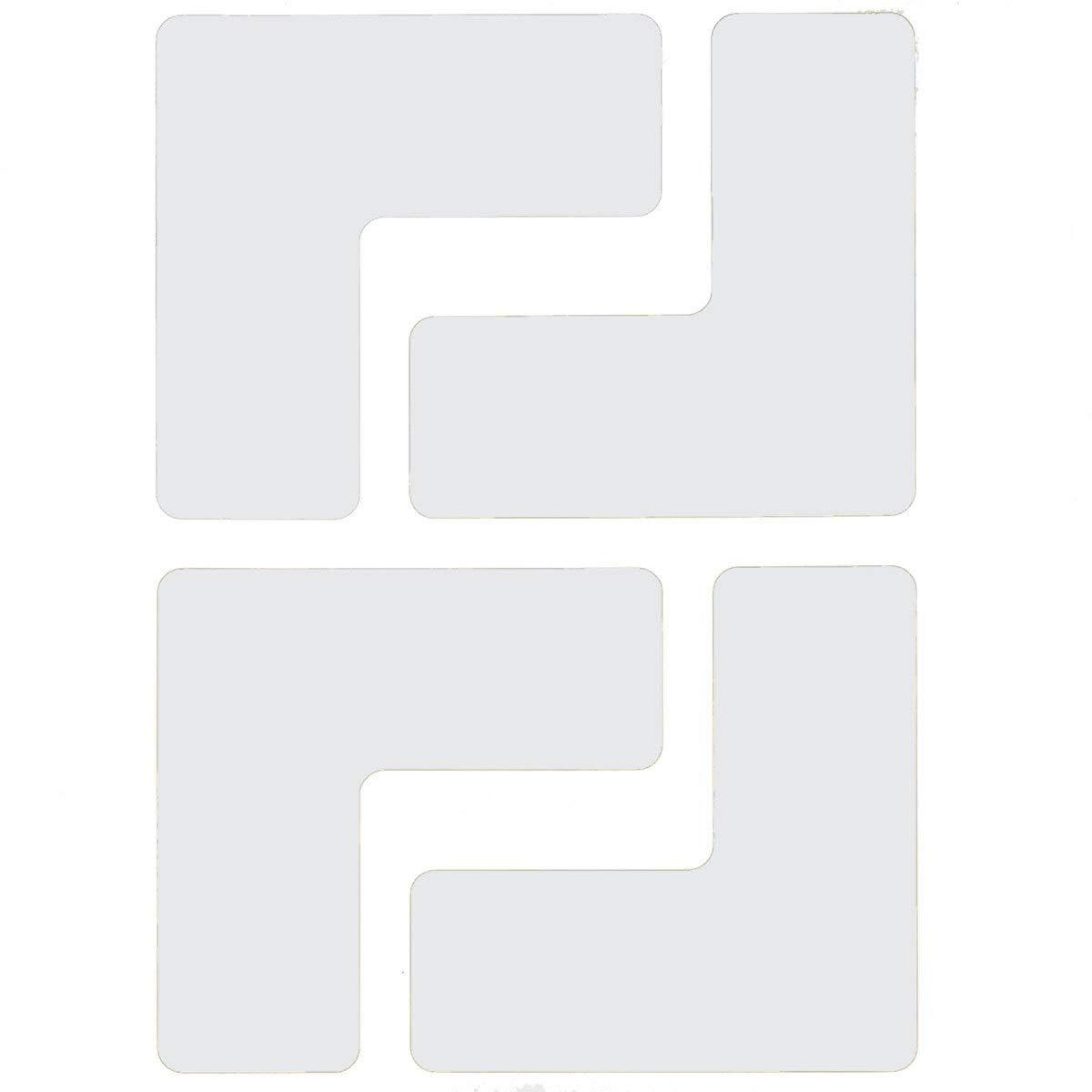 Brady 2'' White .008'' B-514 Polyester Floor Marking Tape