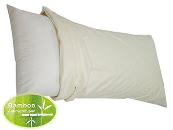 Impermeable, anti-ácaros Funda de almohada GoFlor respirable de bambú (90x40cm): Amazon.es: Salud y cuidado personal