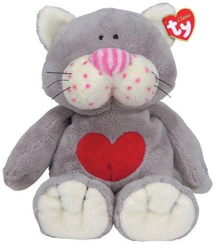 Ty Kissycat Grey Cat by Ty