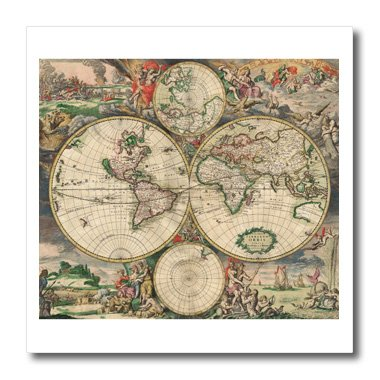 World map 1689 10x10 iron on heat transfer for white material world map 1689 10x10 iron on heat transfer for white material gumiabroncs Images