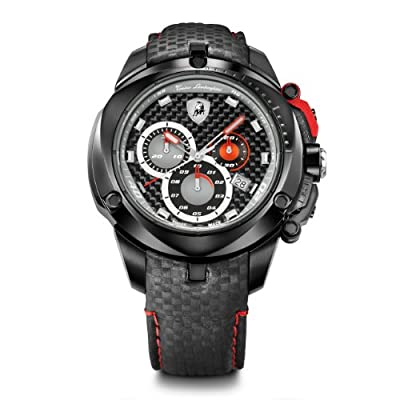 Tonino Lamborghini 7804 Shield Series Black Chronograph Watch from Tonino Lamborghini