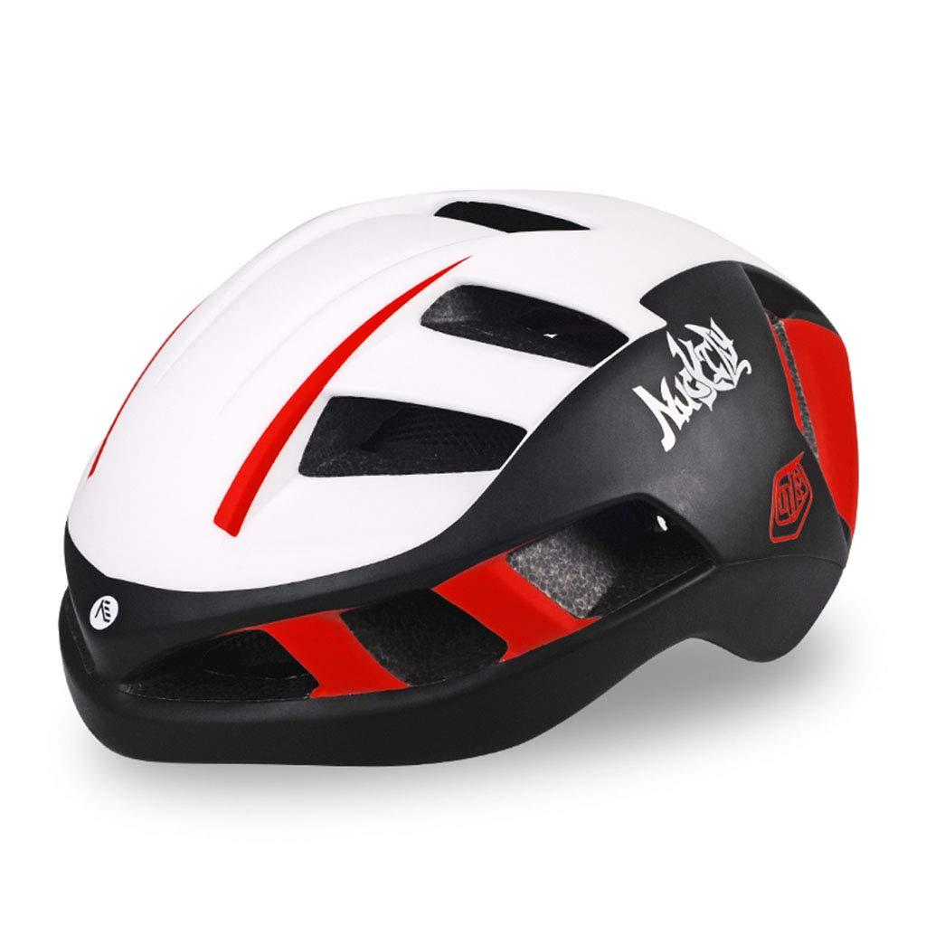 ヘルメット ヘルメットバイク軽量ヘルメット取り外し可能ヘルメット (色 : A, サイズ さいず : L l) B07HT9QYFZ  A L l