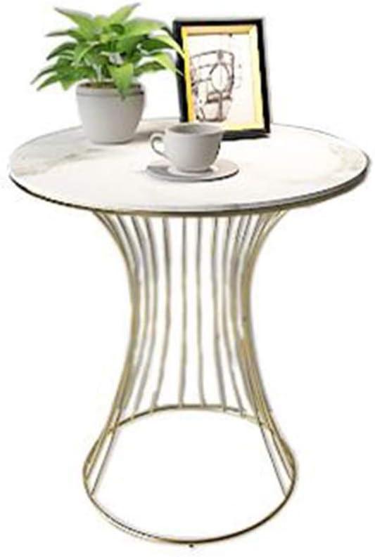 Koop De Nieuwste Mode JCNFA BIJZETTAFEL Side Table, Ronde Koffietafel Nachtkastje marmeren tafelblad Metal Line Frame Single Layer, Sofa Table for Living Room (Color : B3) B3 ydDSsa8