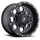 Fuel Revolver 16x8 Black Wheel / Rim 5x4.5 & 5x5 with a 1mm Offset and a 72.60 Hub Bore. Partnumber D52516802645
