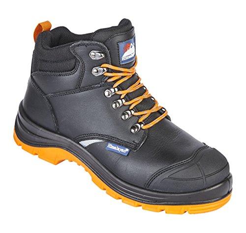Negro Eu Himalayan Hombre De 002 43 black Seguridad Zapatos 5401 XwqBw1p