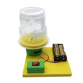 STOBOK Giocattolo educativo di Scienza del Giocattolo dell'Assemblea di DIY del Modello della Neve elettrostatica per i Bambini