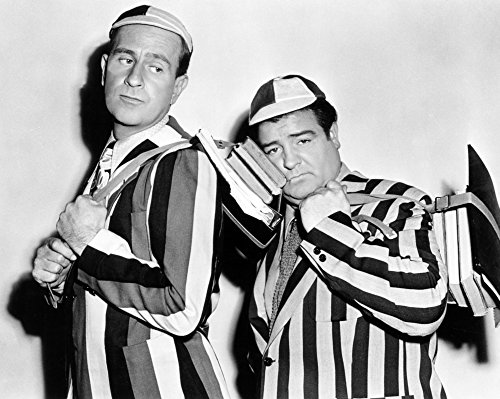 Here Come The Co-Eds Bud Abbott Lou Costello 1945 Photo Print (28 x 22)