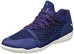 Puma Men's 365 Netfit St Soccer Shoe, Blue Depths White-toreador, 9 M Us