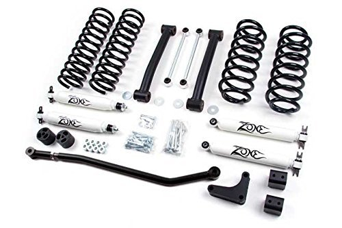 zone wj lift kit - 3