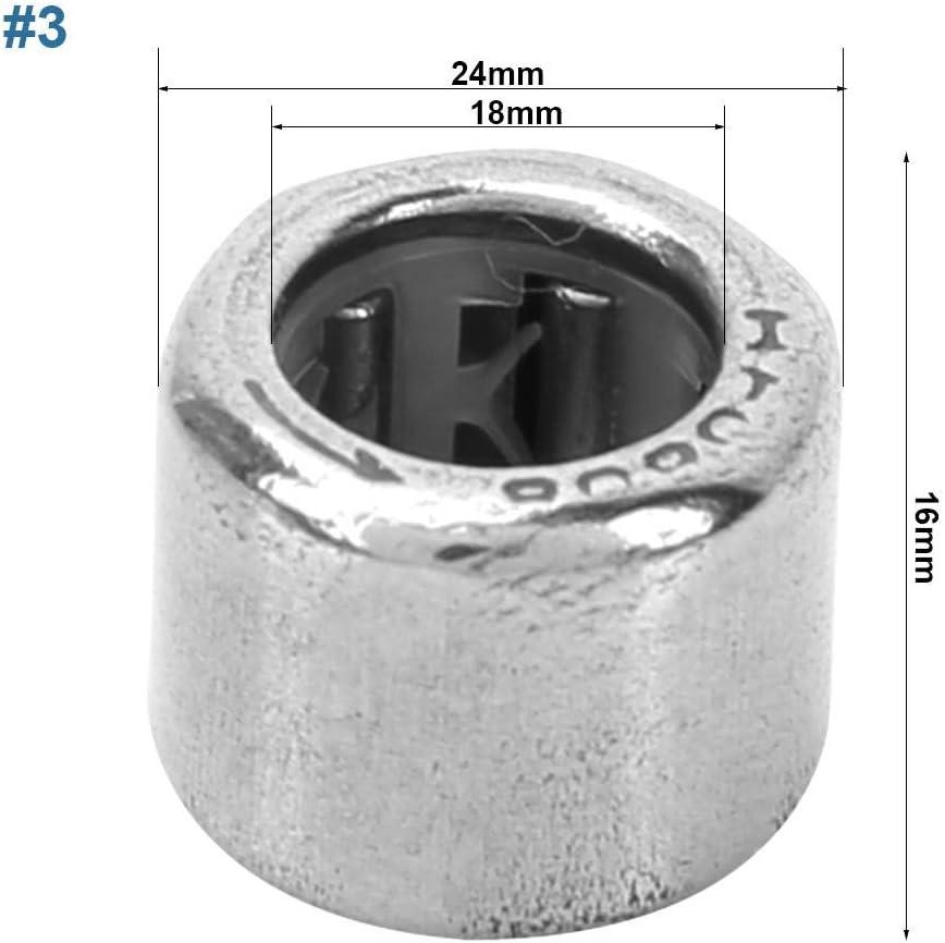 HF1816 18mm I.D 14//26 24mm O.D Roulement /À Aiguilles 10 pcs Roulement /À Aiguilles Roulement /À Bout Ouvert 10//20