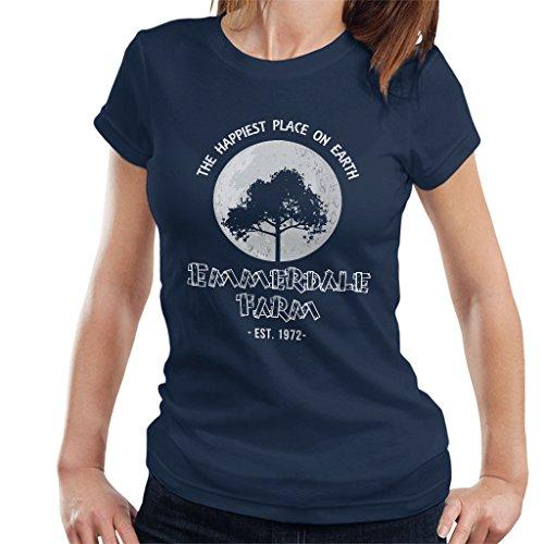 Farm Emmerdale (Emmerdale Farm The Happiest Place On Earth Women's T-Shirt)