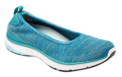 Vionic Flex Aviva - Women's Slip-on Sneaker Teal UbXzISp5En