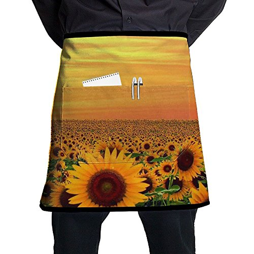 Female Queen Elizabeth 1 Costume (Sunset In Sunflower Field Maryland Aprons Home Bib Apron For Women Men Girl Kids Gifts Kitchen Decorations With Pocket)