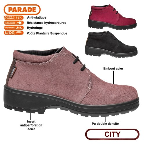 Parade Chaussures Sécurité 3736 Dana Femme De 6T6qp1