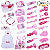 Doctor Play Kit Gift for Kids –Girls,Doctor Kit for Kids,Doctor Play Set with Nurse Clothing,Doctor sets With Kids Doctor Toy Education Toys Girls Boys Gifts