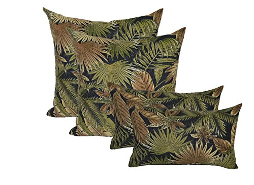 set-of-4-indoor-outdoor-pillow-covers-2-square-2-rectangle-lumbar-tommy-bahama-black-green-tan-baham