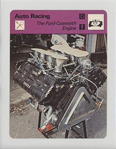 The Ford-Cosworth Engine Ungraded COMC Good to VG-EX (Trading Card) 1977-79 Sportscasters - Series 45 - Geneva B #45-01