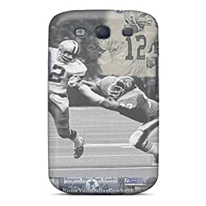 Cute Appearance Covers/tpu TWz10535JEpg Dallas Cowboys Cases For Galaxy S3