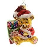 Christopher Radko Color Me Cute! Glass Christmas Ornament
