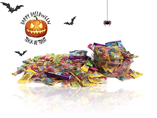 Halloween Candy Party Mix Bag Bulk 5 Pounds Assortment LAFFY TAFFY Cherry Sour Apple Banana NOW and LATER Splits Mix BLACK FOREST Fruity Duos JOLLY RANCHER Original Flavors Value Pack 5Lbs