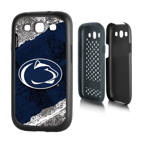 UPC 849120050386, Penn State Nittany Lions Galaxy S3 Rugged Case officially licensed by Pennsylvania State University for the Samsung Galaxy S3 by keyscaper® Durable Two Layer Protection Shock Absorbing