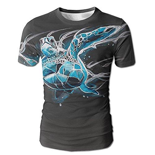 Dog Shark Costume Uk (Mens Turtle Patronus 3D Graphic T-Shirt Weird Tees Small)