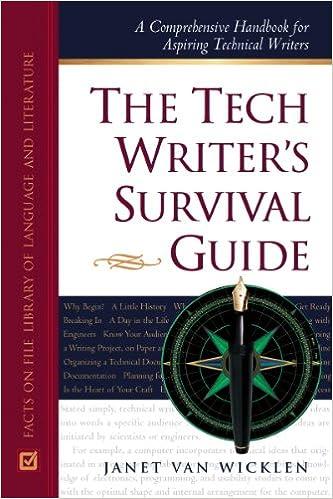 The Tech Writer's Survival Guide: A Comprehensive Handbook