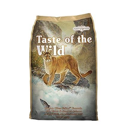 Taste of the Wild Canyon River Comida para Gatos - 2000 gr: Amazon.es: Productos para mascotas