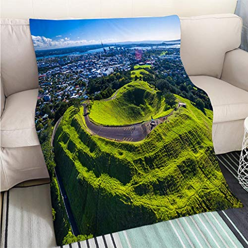 (BEICICI Art Design Photos Cool Quilt Mt Eden Fun Design All-Season Blanket Bed or Couch )