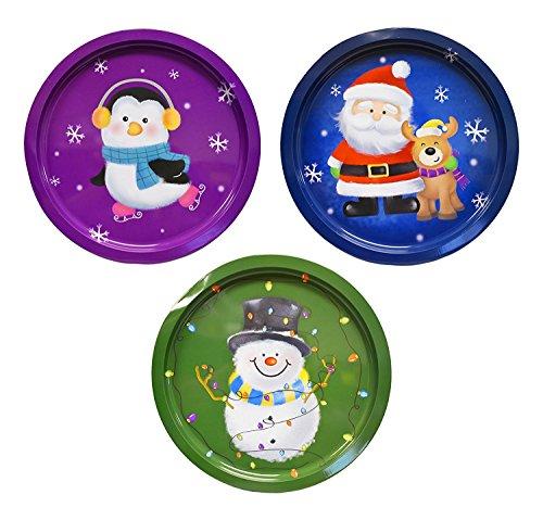 Set Of 3 Holiday Christmas12