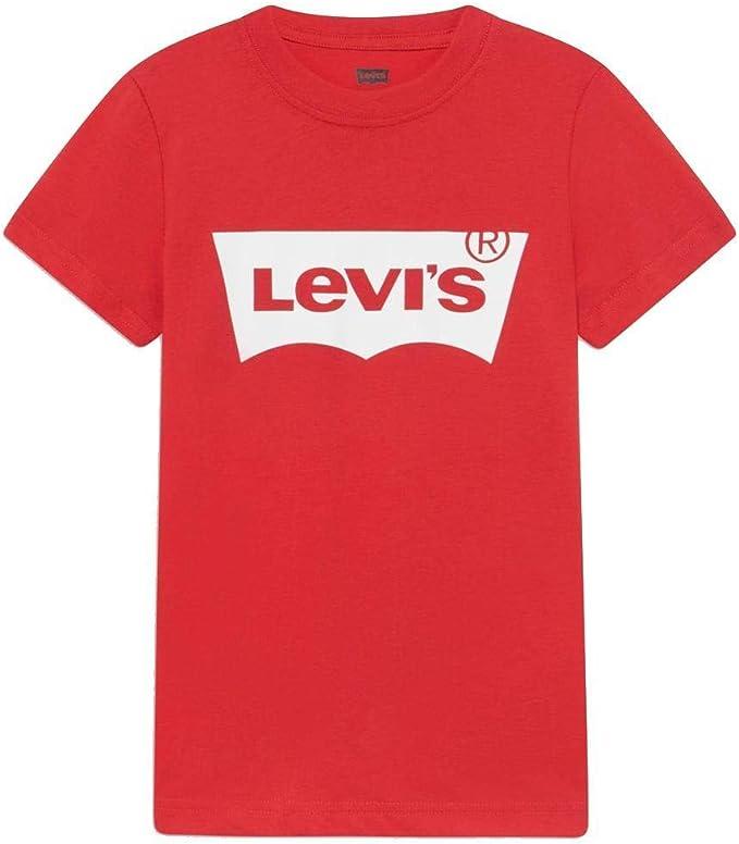 Camiseta para niño Manga Corta Levis NP10027-9E8157 R6W: Amazon.es ...