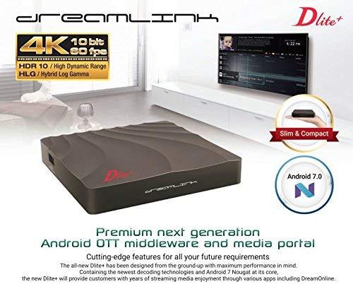 DREAMLINK DLITE+ QUAD CORE 4GB STORAGE/1GB RAM WITH BUILTIN WIFI by Dreamlink Dlite+