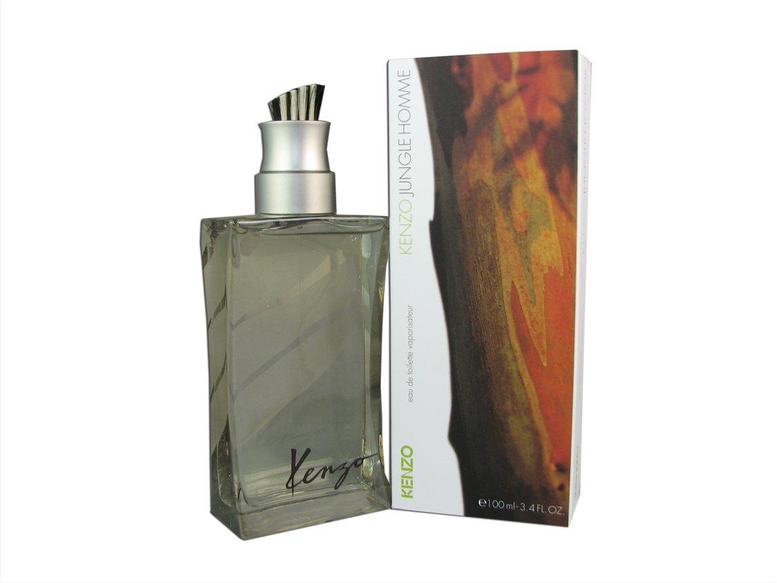 703c38c5724a Amazon.com  Kenzo Jungle Homme for Men by Kenzo 3.4 oz Eau de Toilette  Spray  Health   Personal Care