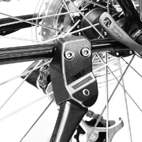 18mm 2 Bolt Pletscher Comp Flex Soporte Negro Unisex Adulto