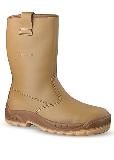 in vendita 301ac 369f3 Jallatte stivali JALASKA S3 SRC antinfortunistica da lavoro, di sicurezza  in morbida pelle ultraresistente - olio/idro repellenti - uomo/donna
