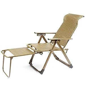 Amazon.com: Sillas plegables ZR – silla de salón de ocio ...