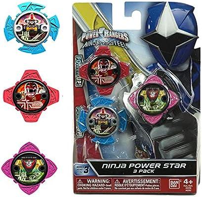 Power Rangers Pack de Estrellas 43750, Multicolor