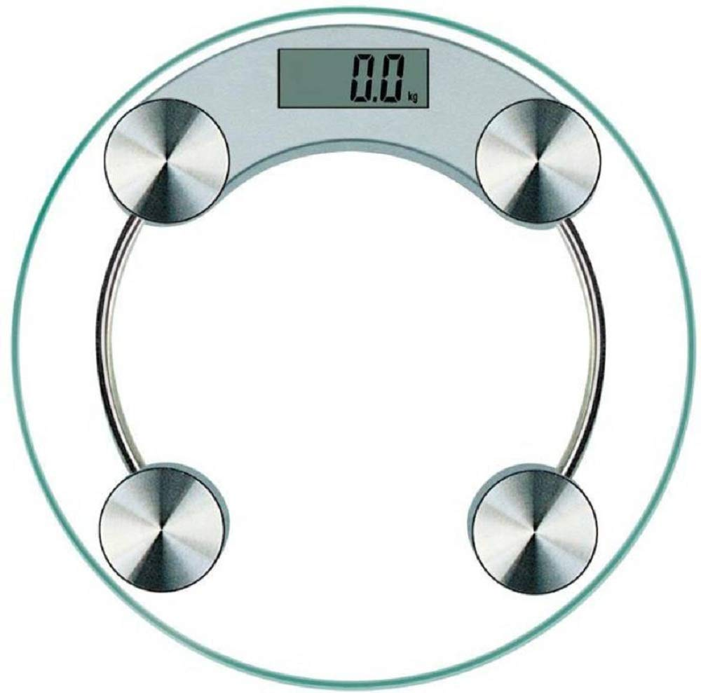 HOLME'S personal scale/digital weighing scales for body weight/digital  weight scale/body scales/8MM bathroom scale/lcd desplay/health weight scale/weight  scale for home/White (Round) : Amazon.in: Health & Personal Care