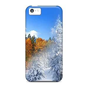 linJUN FENGAwesome Case Cover/ipod touch 5 Defender Case Cover(fall To Winter)