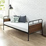 Zinus Santa Fe Twin Daybed Frame/Premium Steel Slat Support