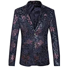 Mens Blazer Suit Jacket Cardigan Jacket Male Wedding Suits