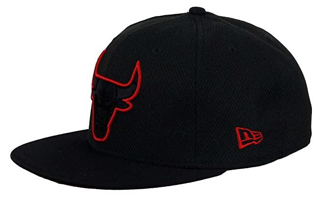 ... discount code for new era men caps fitted cap diamond era prene chicago  bulls black 6 7d82d2cd3cb