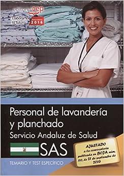 Personal de lavandería y planchado. Servicio Andaluz de Salud (SAS). Temario y tes específico