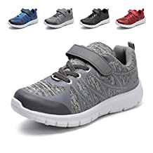Hawkwell Kids Hook-and-loop Strap Sports Running Shoes(Toddler/Little Kid/Big Kid)
