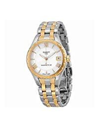 Tissot T-Lady Two-Tone Automatic Ladies Watch T0722072211801